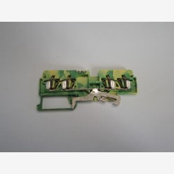 Wago 281-657 grounded terminal block