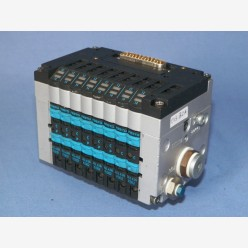 Festo pneumatic block for 8 x 10mm-valves