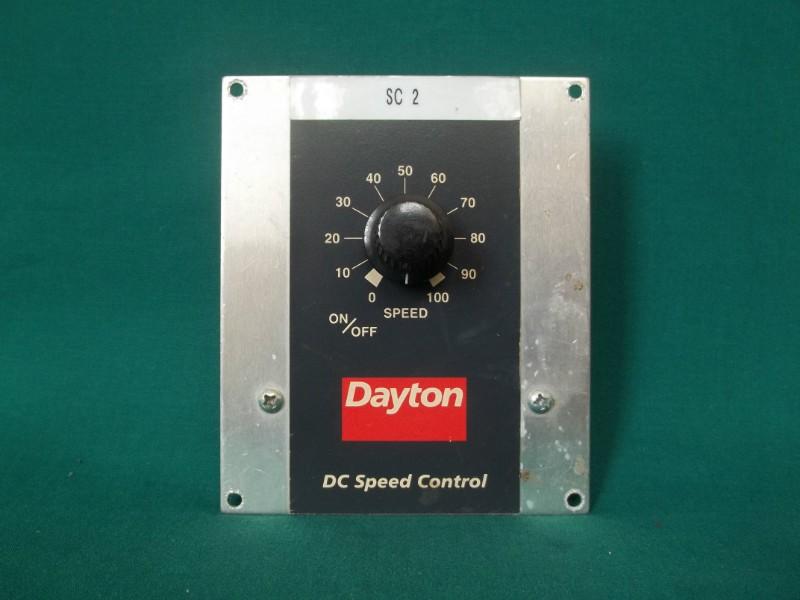 Dayton Dc Speed Control Sc 2