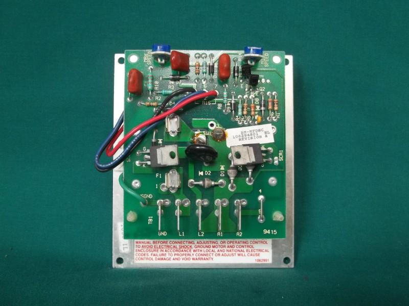 Dayton sd control dc Manual on